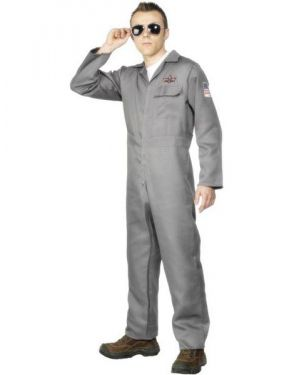 Mens Aviator Fighter Pilot Costume