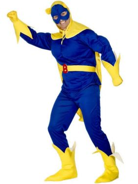 Adult Original Bananaman Costume