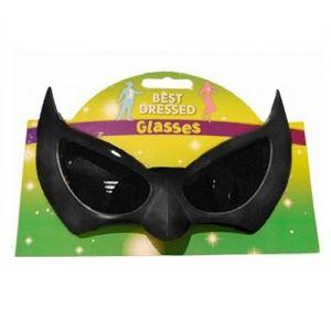 Halloween Bat Glasses - Black
