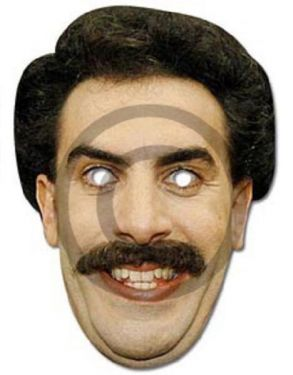 Celebrity Fancy Dress Mask - Borat Mask