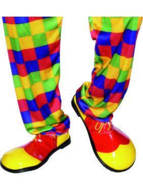 Clown Fancy Dress Shoes