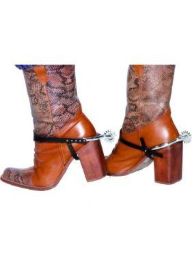 Cowboy Fancy Dress - Boot Spurs