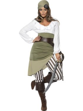 Pirate Shipmate Sweetie Costume - M & L