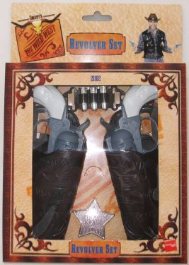 Cowboy Fancy Dress - Revolver Set