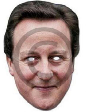 Celebrity David Cameron Card Mask