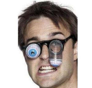 Joke Droopy Eye Specs Glasses