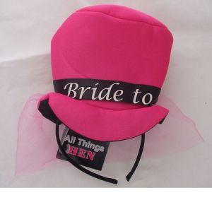 Mini Bride to Be Top Hat on Headband