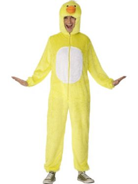"Adult Fancy Dress - Duck Costume - Animal Suit - 38/42"" Chest"