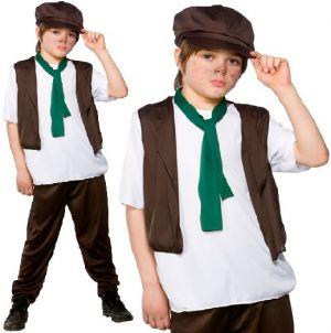 Childrens Victorian Poor Boy Costume