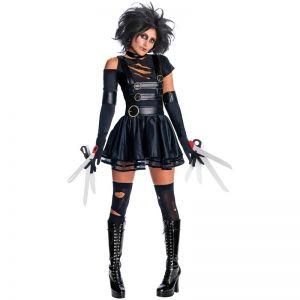 Ladies Miss Scissorhands Costume