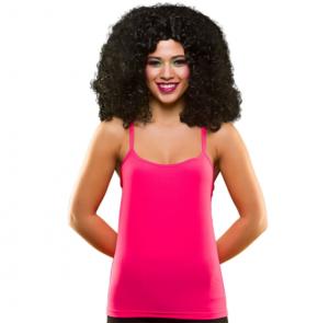 80s Pink Vest Top
