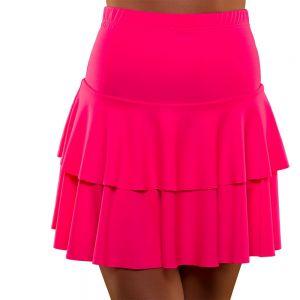 Neon Pink Ra RA Skirt
