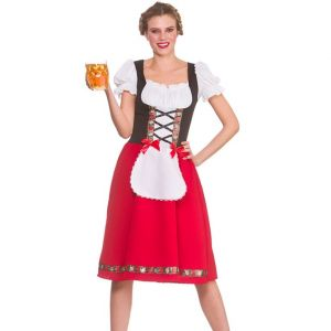 Ladies Traditional Bavarian Beer Maid Costume