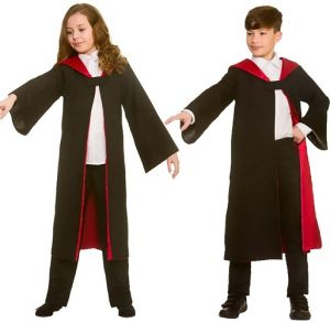 Childrens Wizard Costume Cape