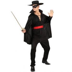Mens Bandit Hero Fancy Dress Costume