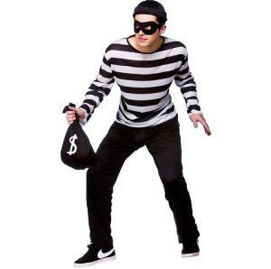 Mens Burglar Robber Costume