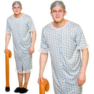 Adult Granny Fancy Dress Costume