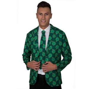 Mens St Patricks Day Jacket & Tie