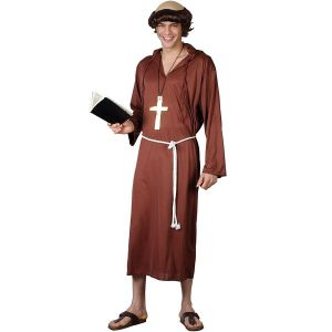 Mens Monk of the Abbey Costume