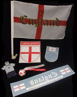 World Cup England St George Car Kit