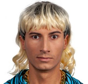 Exotic 80s Mullet Wig