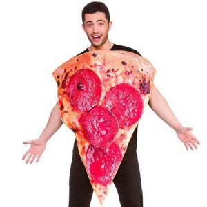 Adult Pizza Fancy Dress Costume