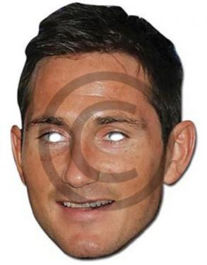 Celebrity Fancy Dress Mask - Frank Lampard Card Mask