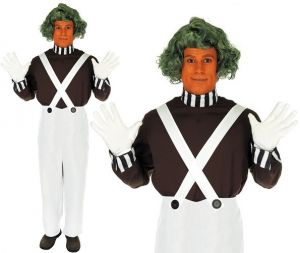 Chocolate Worker Fancy Dress Costume