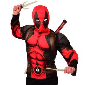 Adult/Teen Deadpool Fancy Dress Costume