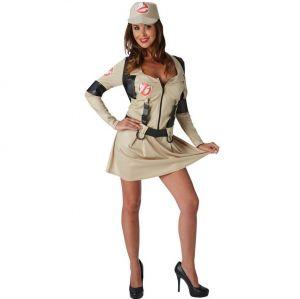 Ladies Ghostbusters Dress Costume