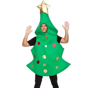 Adult Christmas Tree Costume - One Size