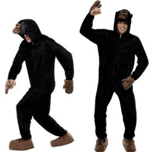 "Gorila Costume - Monkey Animal Suit - 38/40"" Chest"