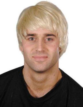Mens Fancy Dress Guy Wig - Blonde