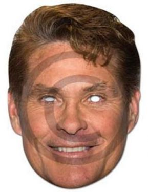 David Hasselhoff Mask - Fancy Dress Mask
