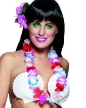 Hawaiian Fancy Dress - Lei - Multi Coloured