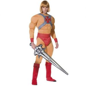 1980s He-Man Fancy Dress Costume