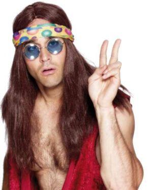 60s 70s Fancy Dress Hippy Round Glasses
