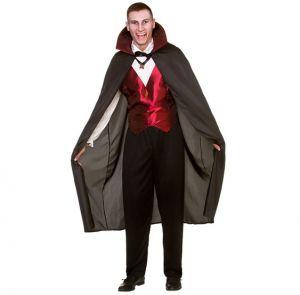 Mens Classic Vampire Fancy Dress Costume