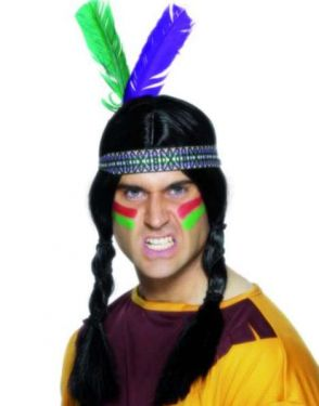 Cowboy Fancy Dress - Indian Feather Headband