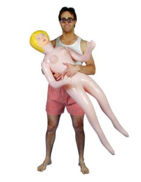 Stag Night Inflatable Blow Up Lady