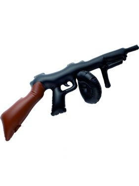 Gangster Fancy Dress - Inflatable Tommy Gun