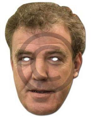 Celebrity Fancy Dress Mask - Jeremy Clarkson Card Mask