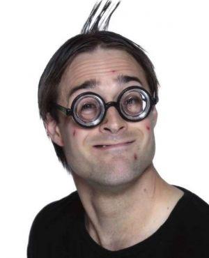 Joke Nerd Glasses by Smiffys