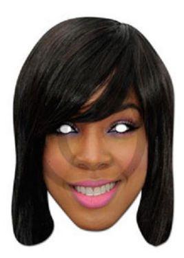 Celebrity Fancy Dress Mask - Kelly Rowland Mask - X Factor