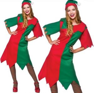Ladies Plus Size Elf Costume