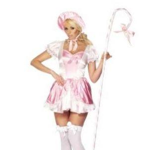 Ladies Fancy Dress - Sexy Fever Bo Peep Costume - Medium