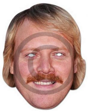 Keith Lemon Fancy Dress Mask - Celebrity Juice