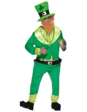 St Patricks Day Leprechaun Fancy Dress Costume