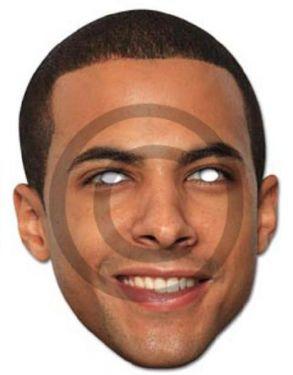 Celebrity Fancy Dress Mask - JLS Marvin Mask