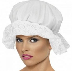 Victorian Fancy Dress Mop Cap